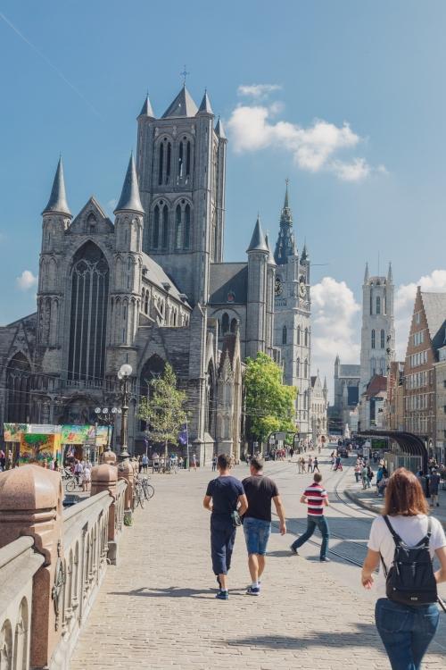 Gand, la plus belle ville de Belgique?
