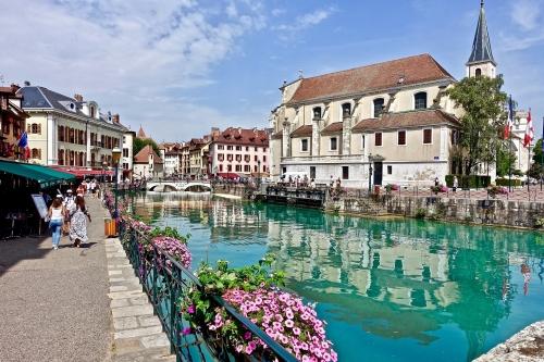 Annecy : monuments et restaurants