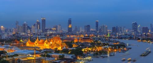 Bangkok - la ville de nuit