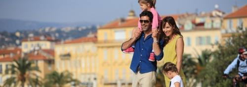 Un week-end en famille à Nice