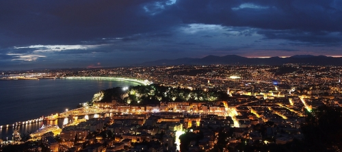 Vie nocture à Nice - Nice by night