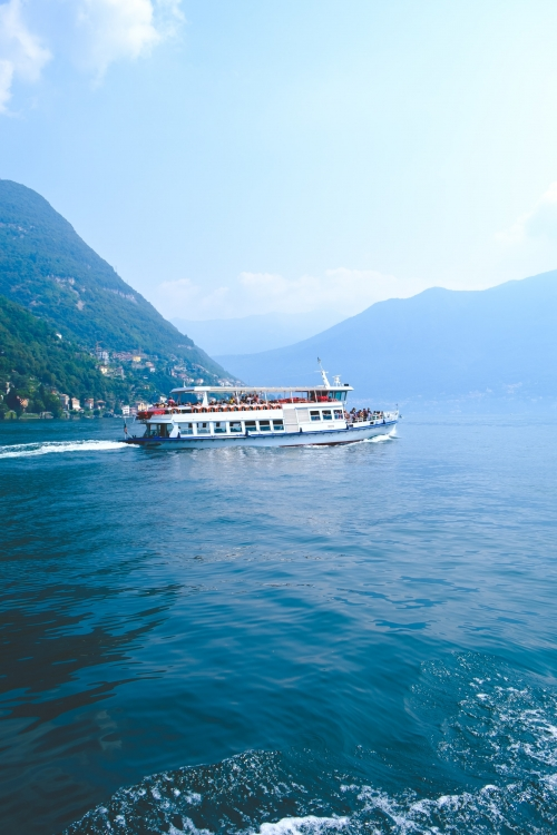 Autour du lac de Côme, Italie