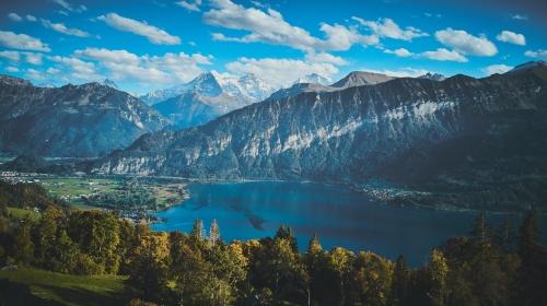 Aix-les-Bains et le lac du Bourget