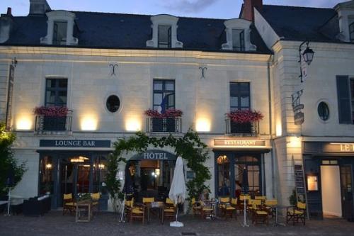 Autour de l'hôtel La Croix Blanche Fontevraud