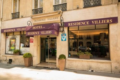 Autour de l'Hôtel Résidence Villiers