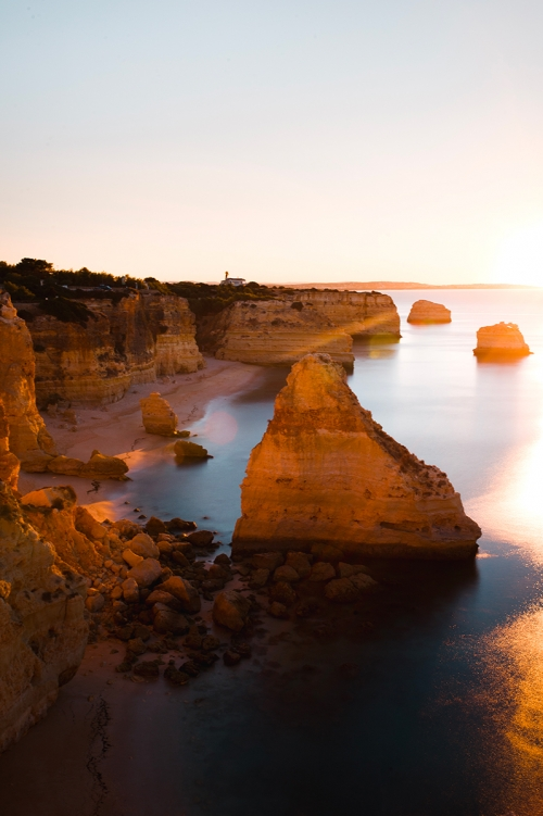 Visiter l'Algarve avec Chloé Boucherit