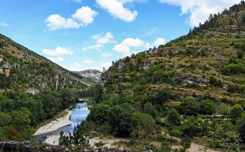 La beauté de la Vallée du Tarn